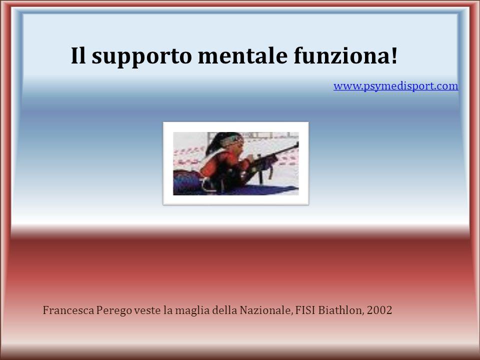 Il supporto mentale funziona!