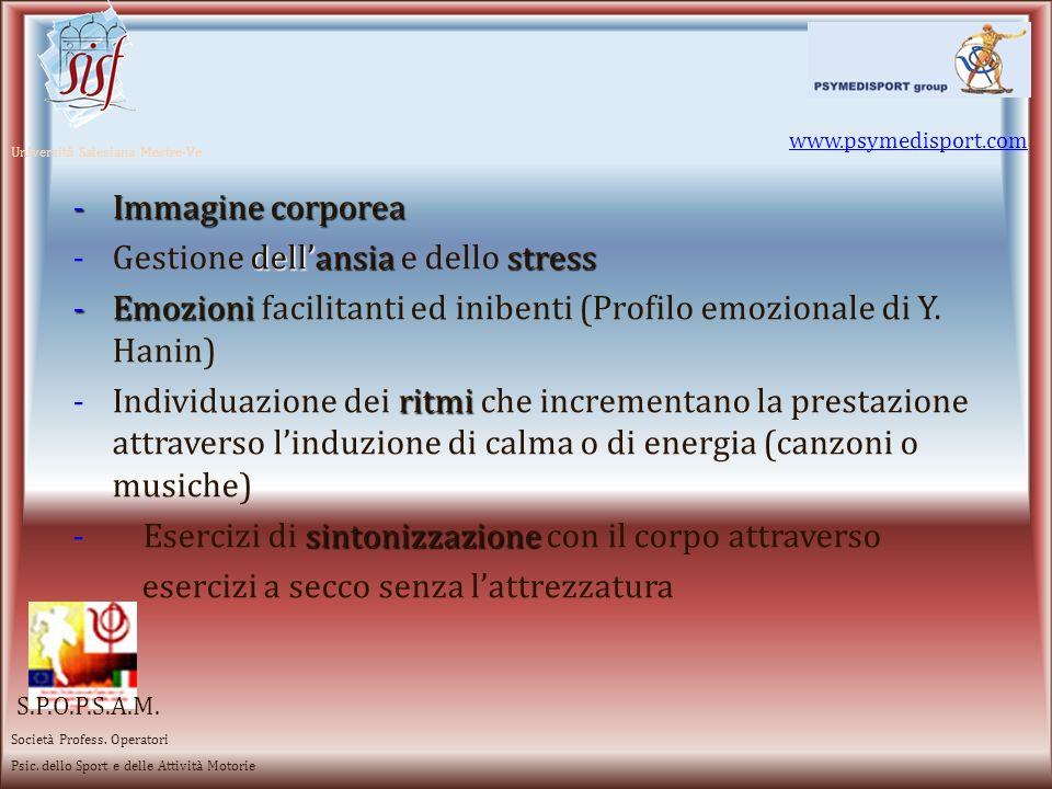 Gestione dell'ansia e dello stress