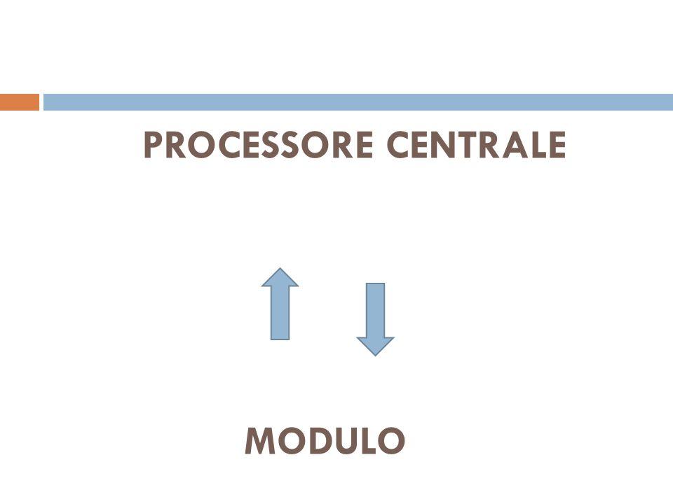 PROCESSORE CENTRALE MODULO