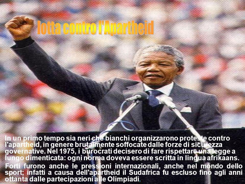 lotta contro l Apartheid