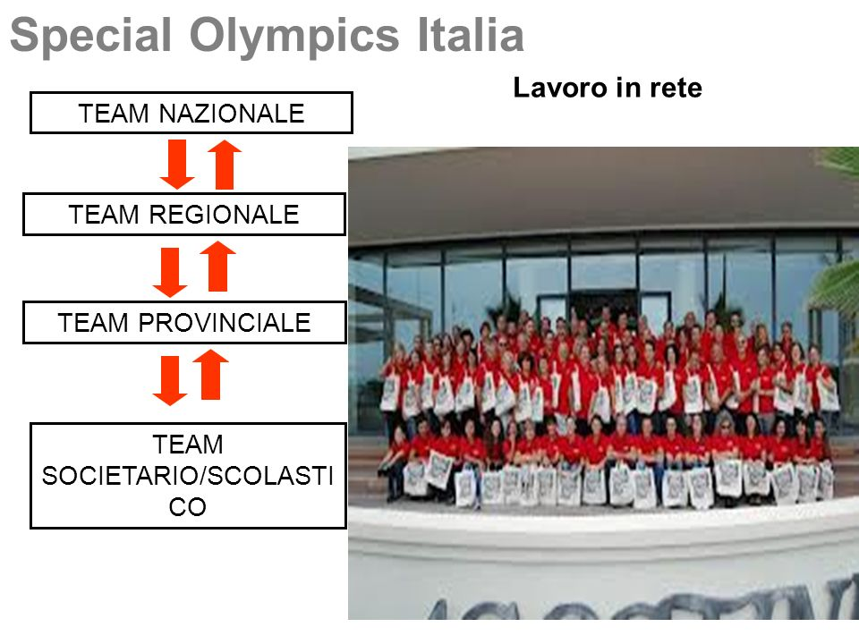 TEAM SOCIETARIO/SCOLASTICO