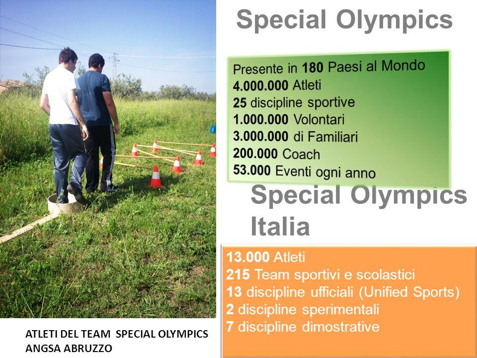 Special Olympics Special Olympics Italia
