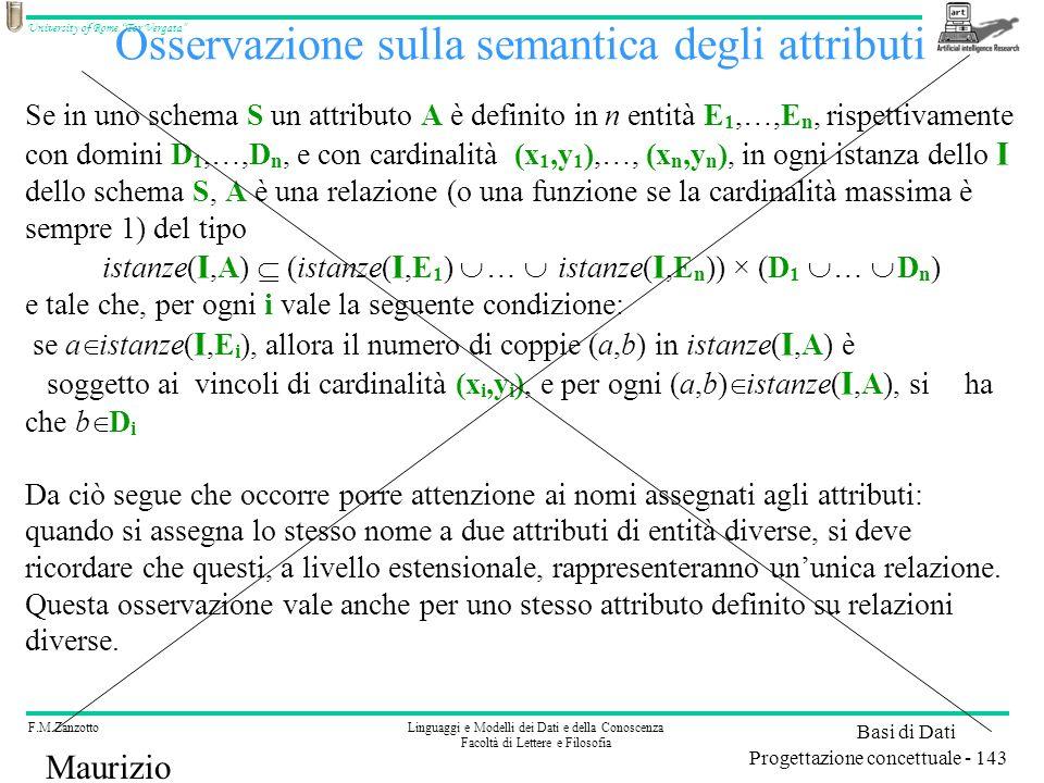 Osservazione sulla semantica degli attributi