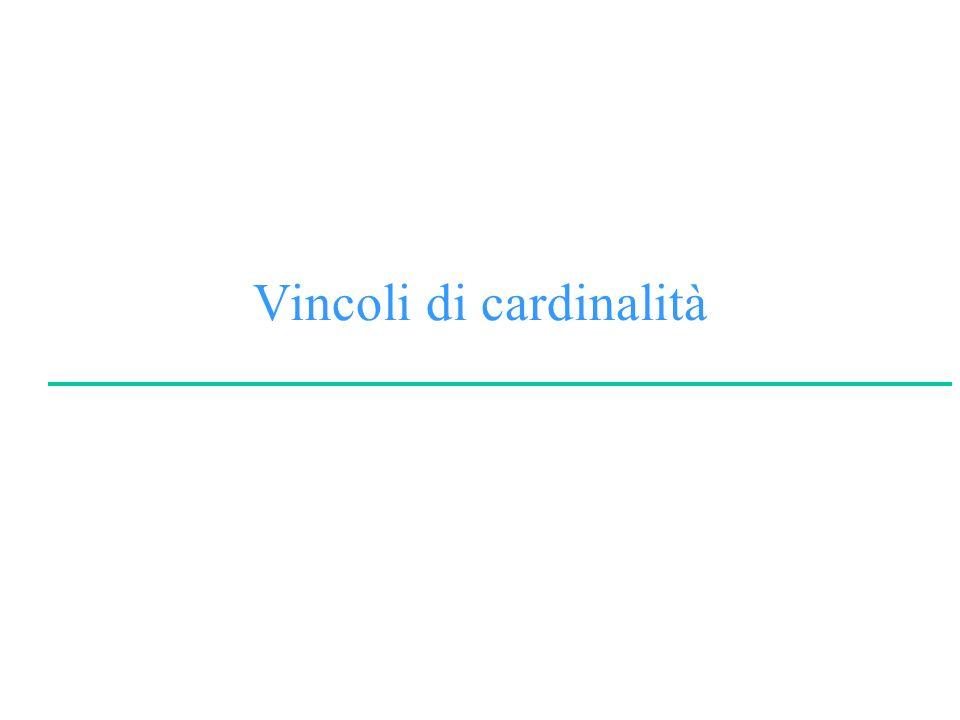 Vincoli di cardinalità