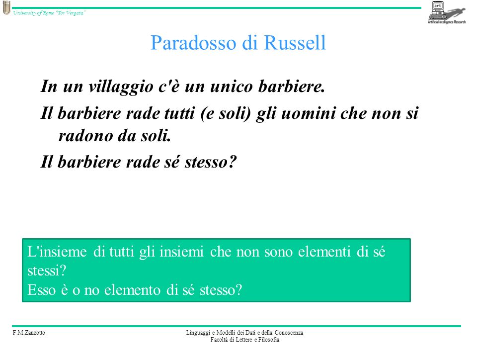 Paradosso di Russell