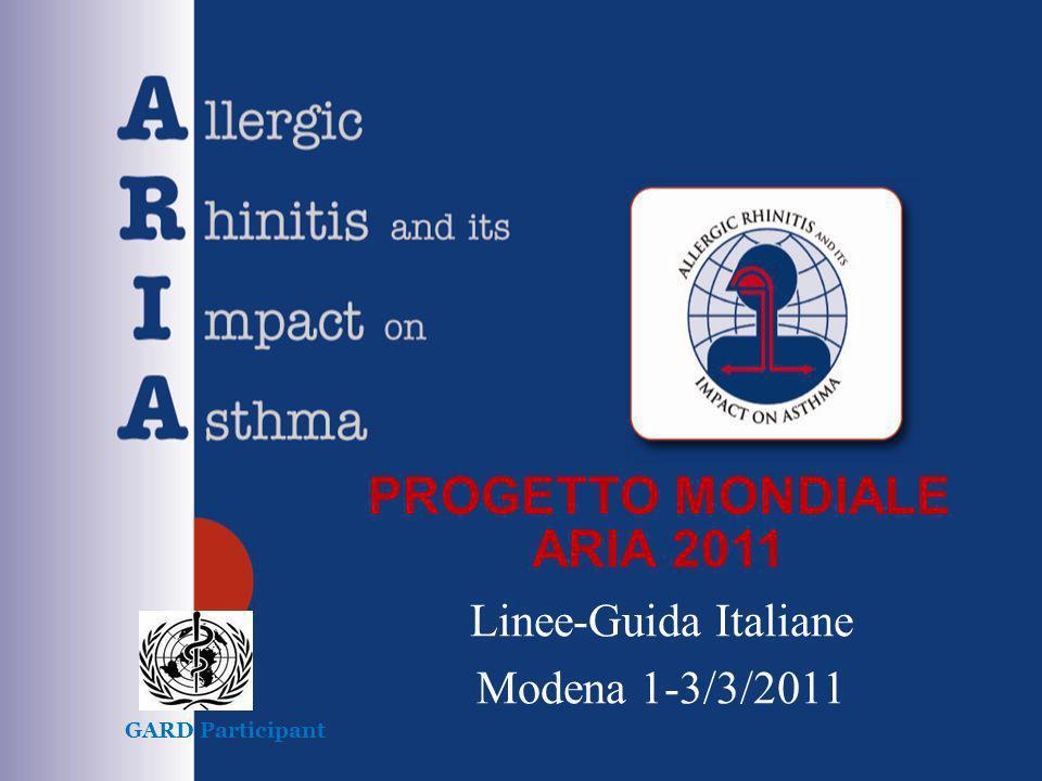 PROGETTO MONDIALE ARIA 2011