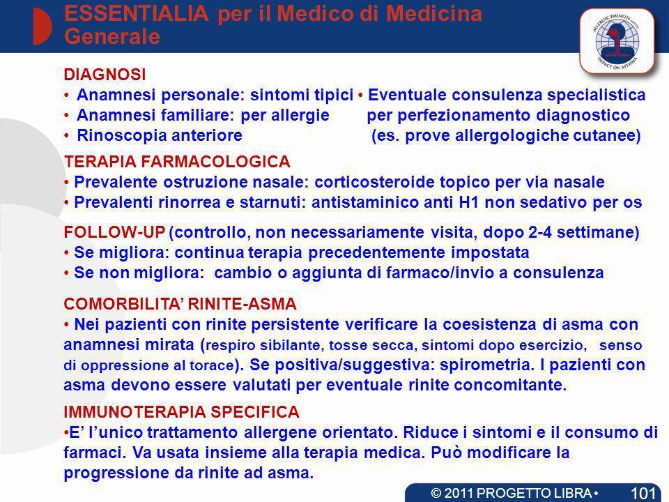ESSENTIALIA per il Medico di Medicina Generale