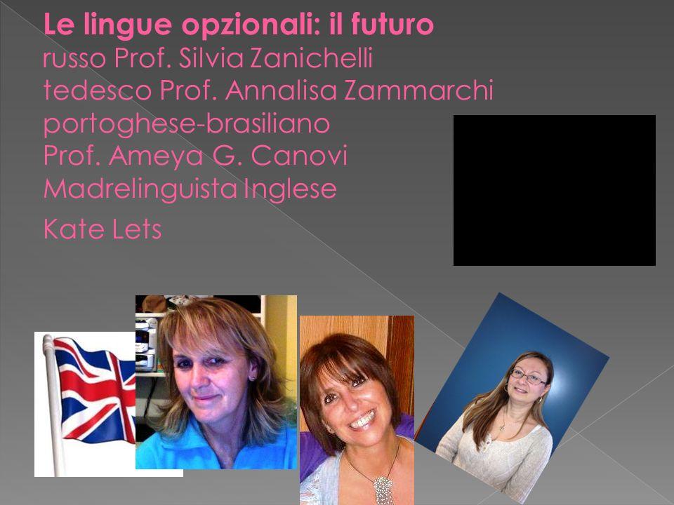 Le lingue opzionali: il futuro russo Prof