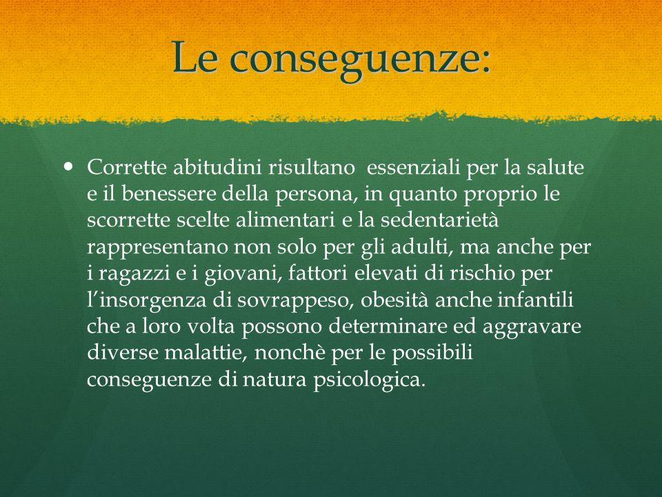 Le conseguenze: