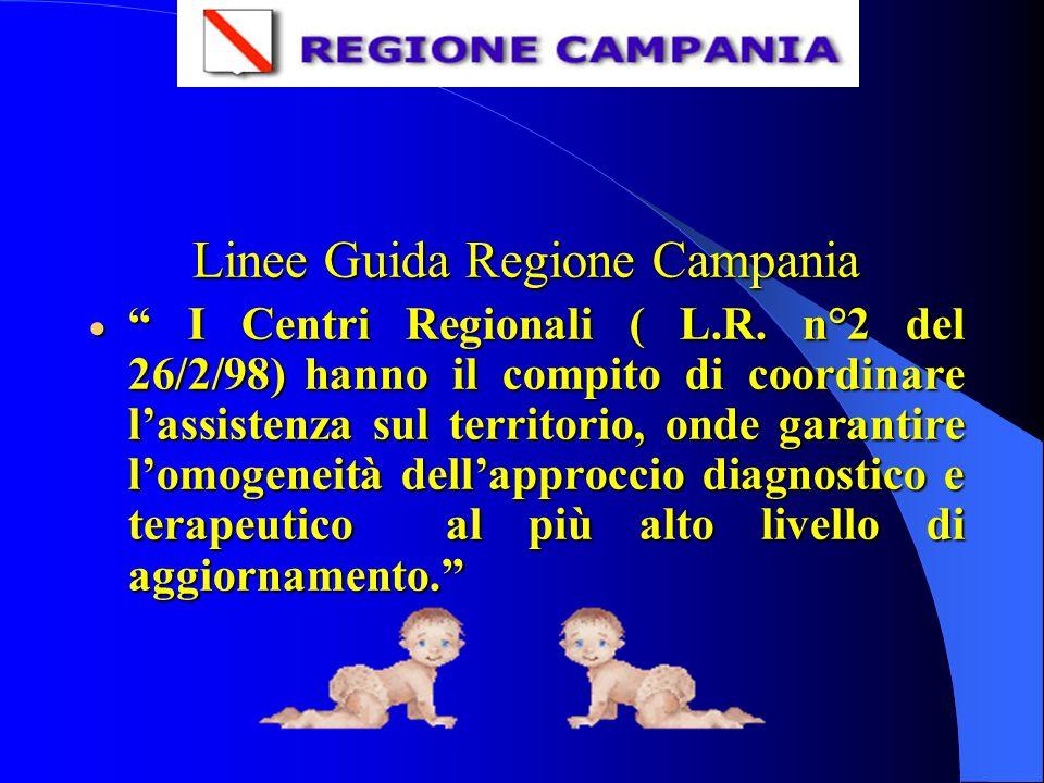 Linee Guida Regione Campania