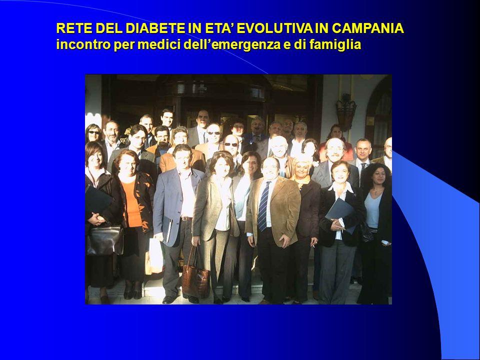 RETE DEL DIABETE IN ETA' EVOLUTIVA IN CAMPANIA