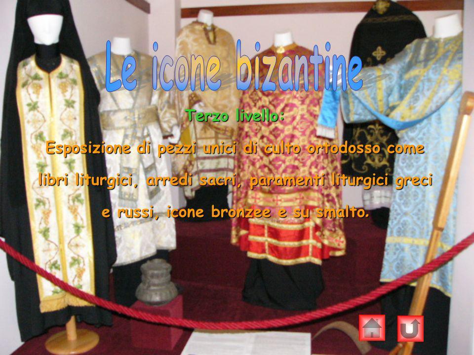 Le icone bizantine Terzo livello: