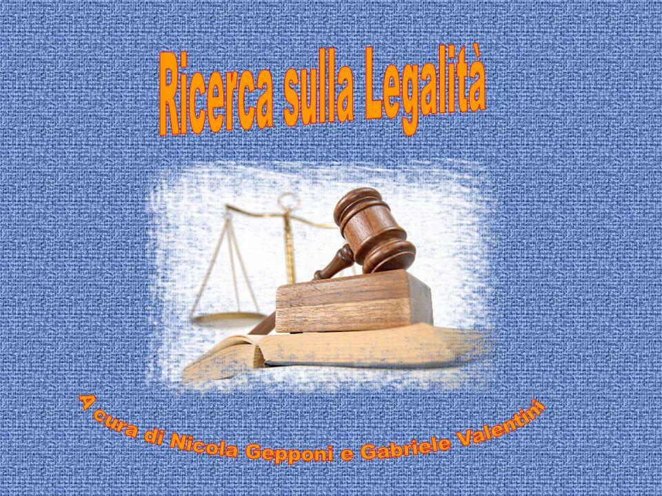 Ricerca sulla Legalità
