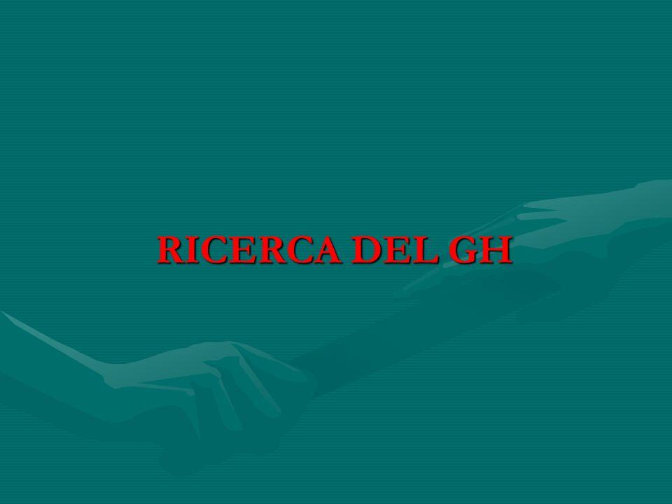 RICERCA DEL GH