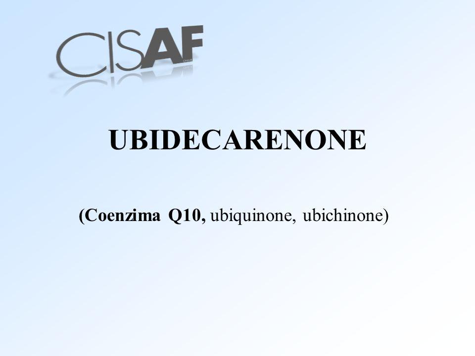 (Coenzima Q10, ubiquinone, ubichinone)