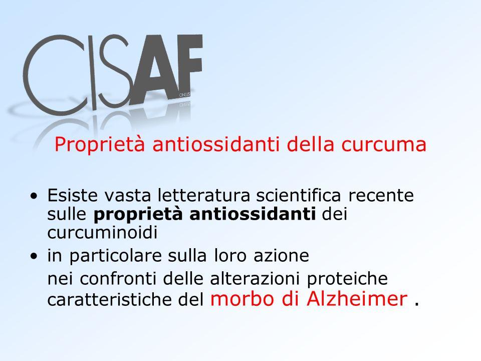 Proprietà antiossidanti della curcuma