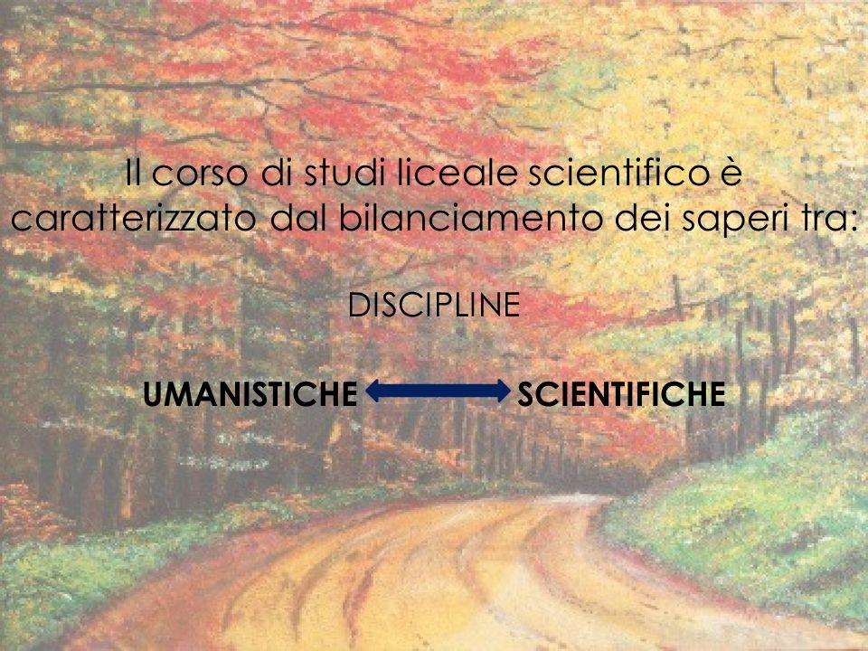 UMANISTICHE SCIENTIFICHE
