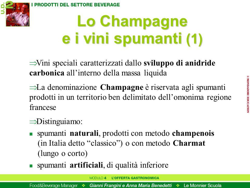 Lo Champagne e i vini spumanti (1)