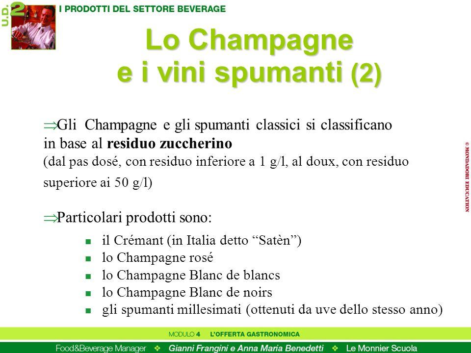 Lo Champagne e i vini spumanti (2)