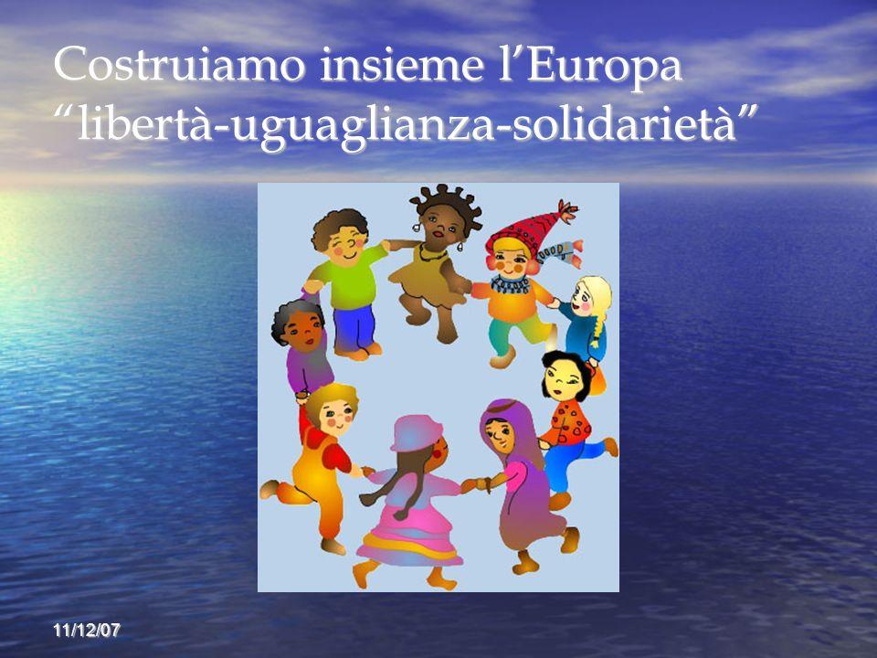 Costruiamo insieme l'Europa libertà-uguaglianza-solidarietà