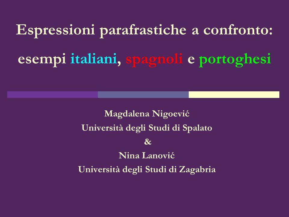 Università degli Studi di Spalato Università degli Studi di Zagabria