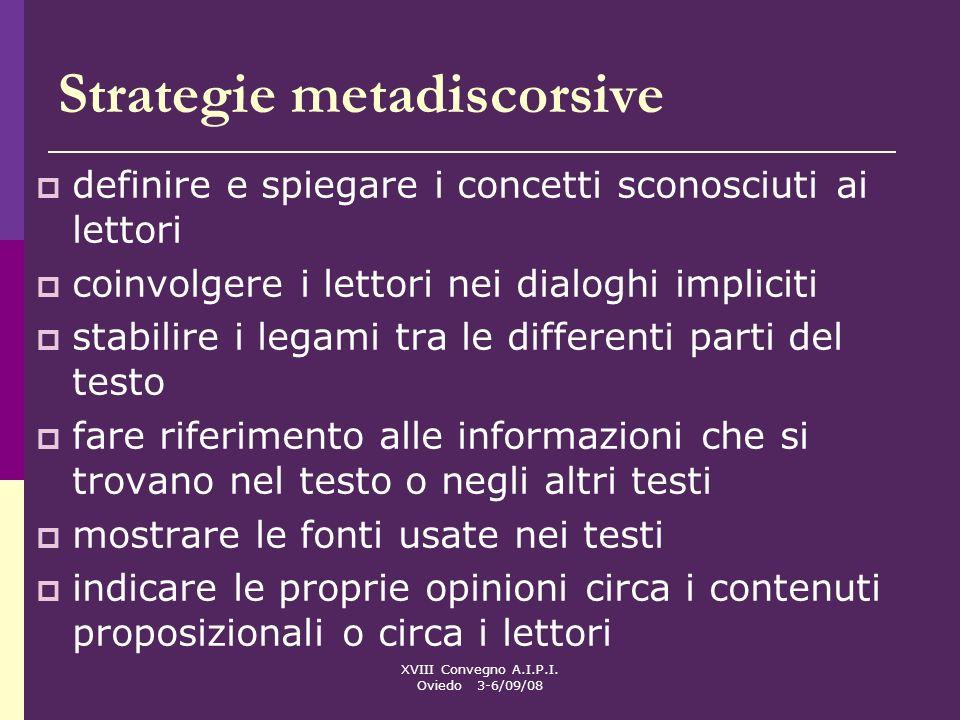 Strategie metadiscorsive