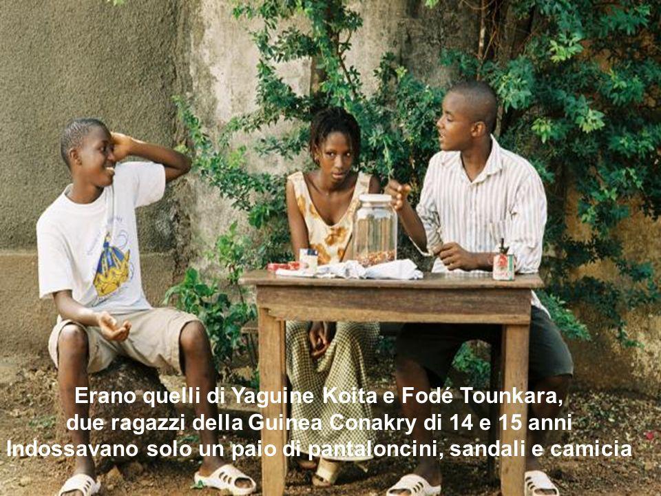 Erano quelli di Yaguine Koita e Fodé Tounkara,