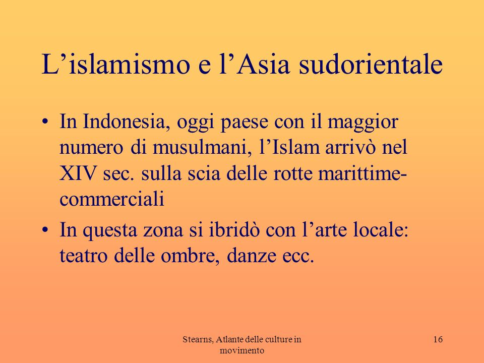 L'islamismo e l'Asia sudorientale