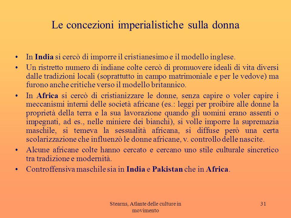 Le concezioni imperialistiche sulla donna
