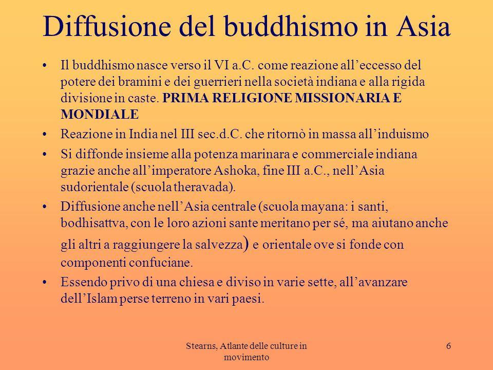 Diffusione del buddhismo in Asia