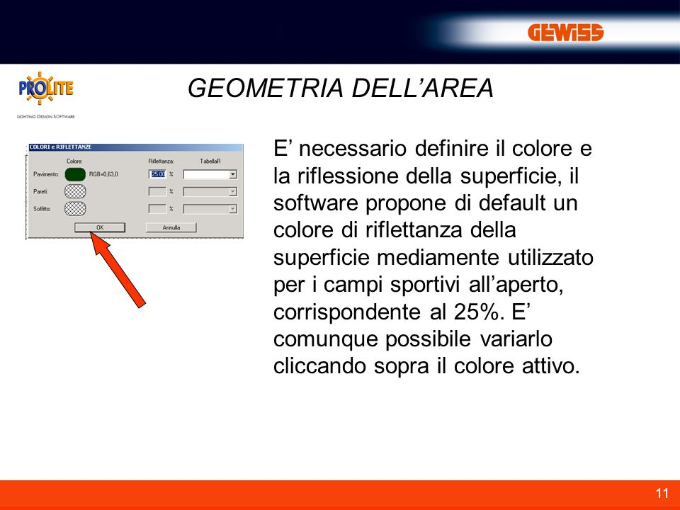 GEOMETRIA DELL'AREA