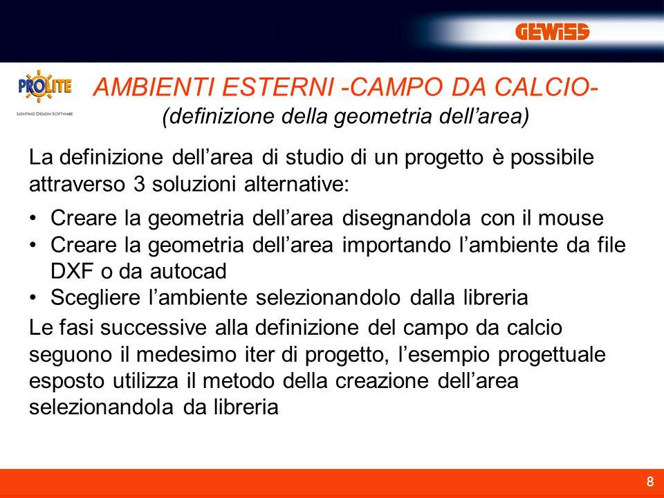 AMBIENTI ESTERNI -CAMPO DA CALCIO-