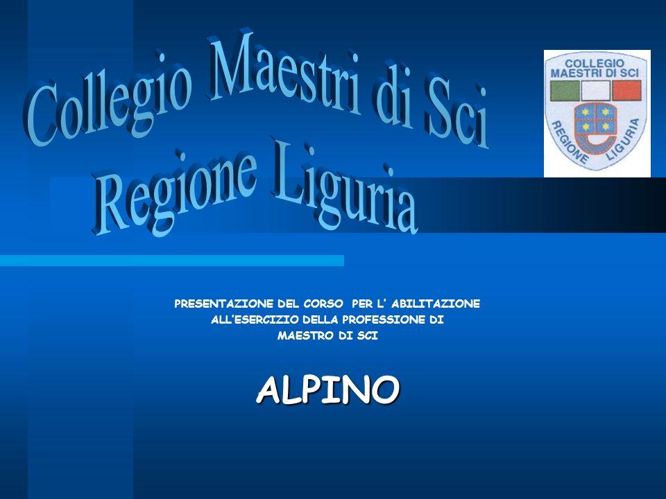 ALPINO Collegio Maestri di Sci Regione Liguria