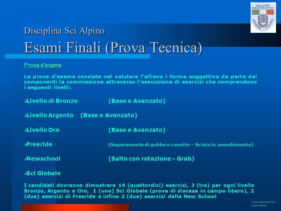 Disciplina Sci Alpino Esami Finali (Prova Tecnica)