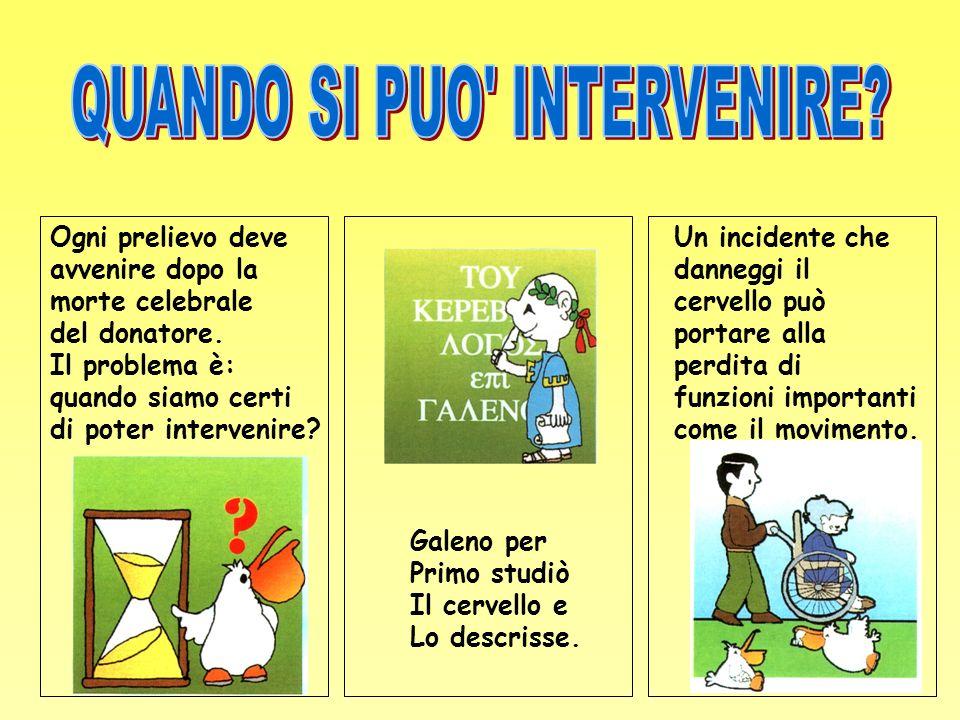 QUANDO SI PUO INTERVENIRE