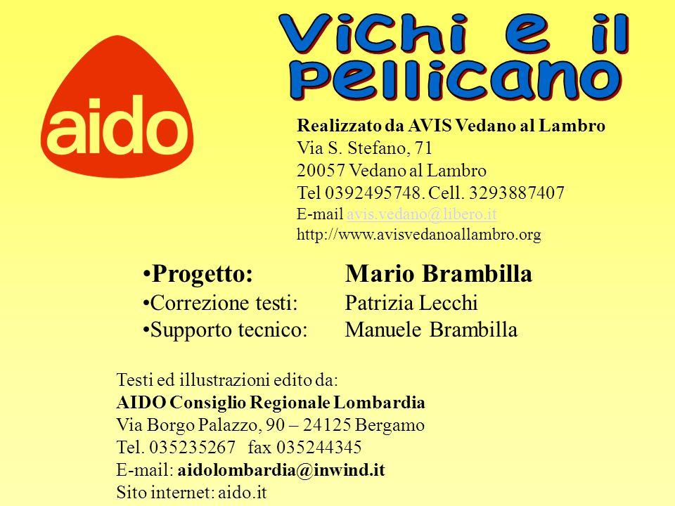 Vichi e il pellicano Progetto: Mario Brambilla