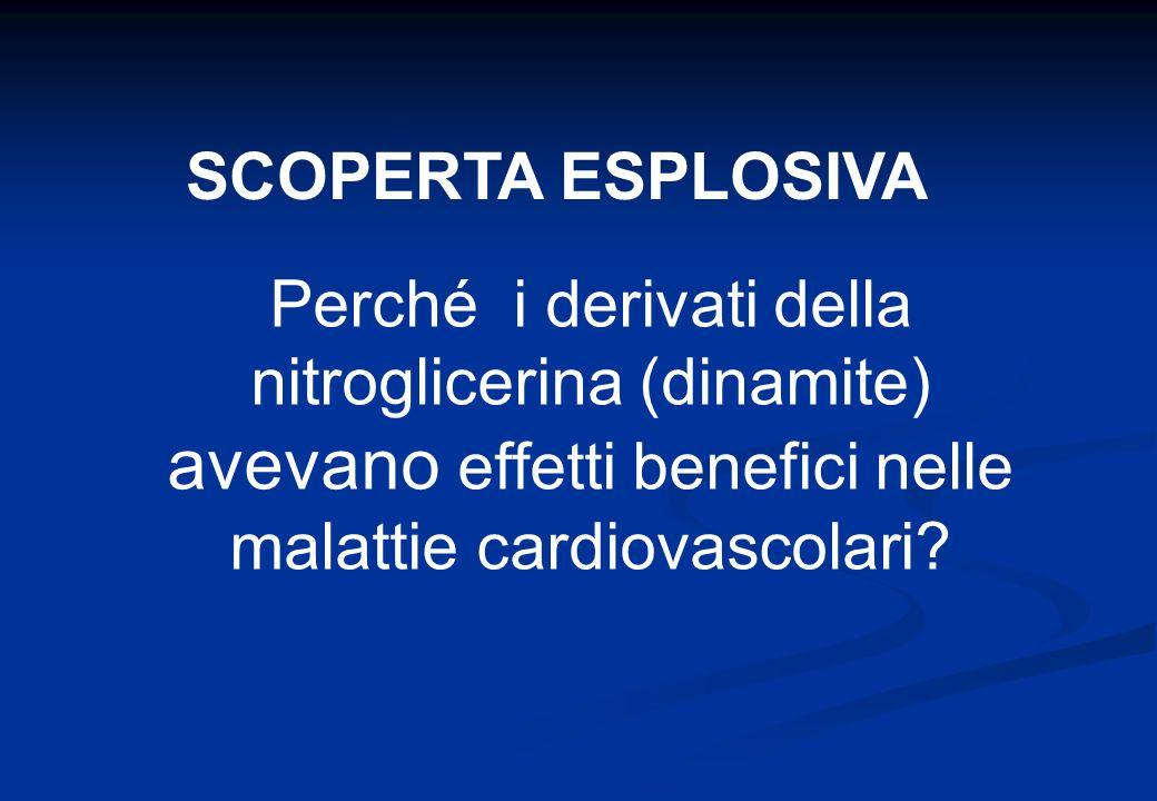 SCOPERTA ESPLOSIVA Perché i derivati della nitroglicerina (dinamite) avevano effetti benefici nelle malattie cardiovascolari
