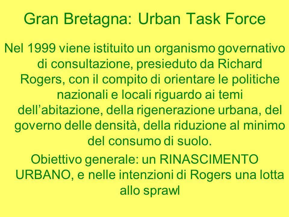 Gran Bretagna: Urban Task Force