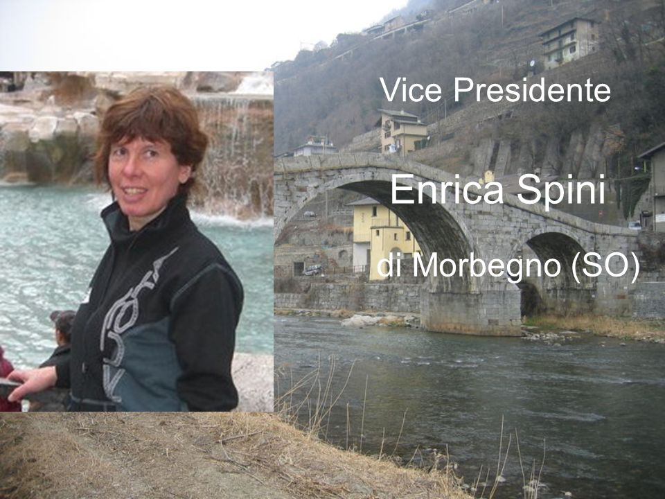 Vice Presidente Enrica Spini di Morbegno (SO)