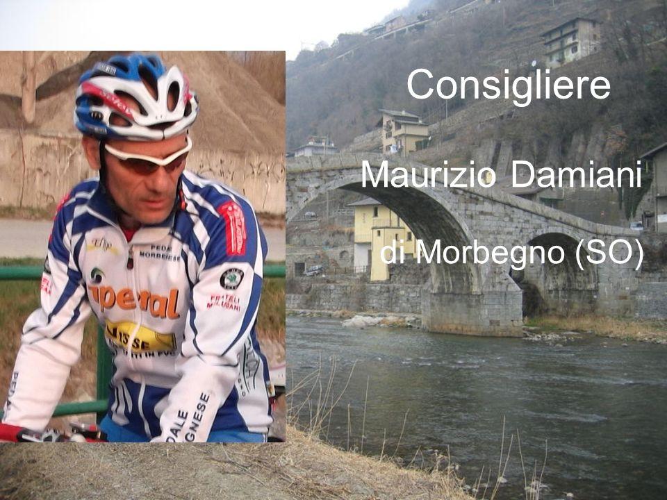 Consigliere Maurizio Damiani di Morbegno (SO)