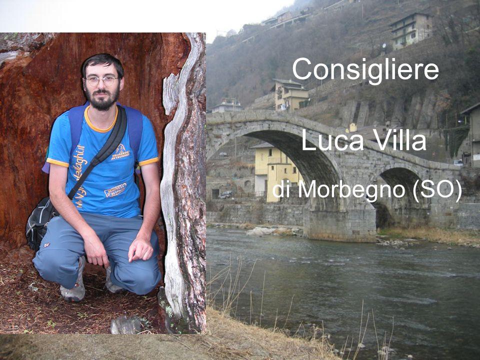 Consigliere Luca Villa di Morbegno (SO)