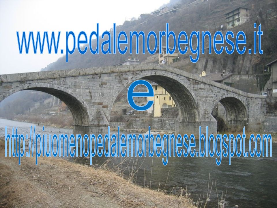 www.pedalemorbegnese.it e http://piuomenopedalemorbegnese.blogspot.com