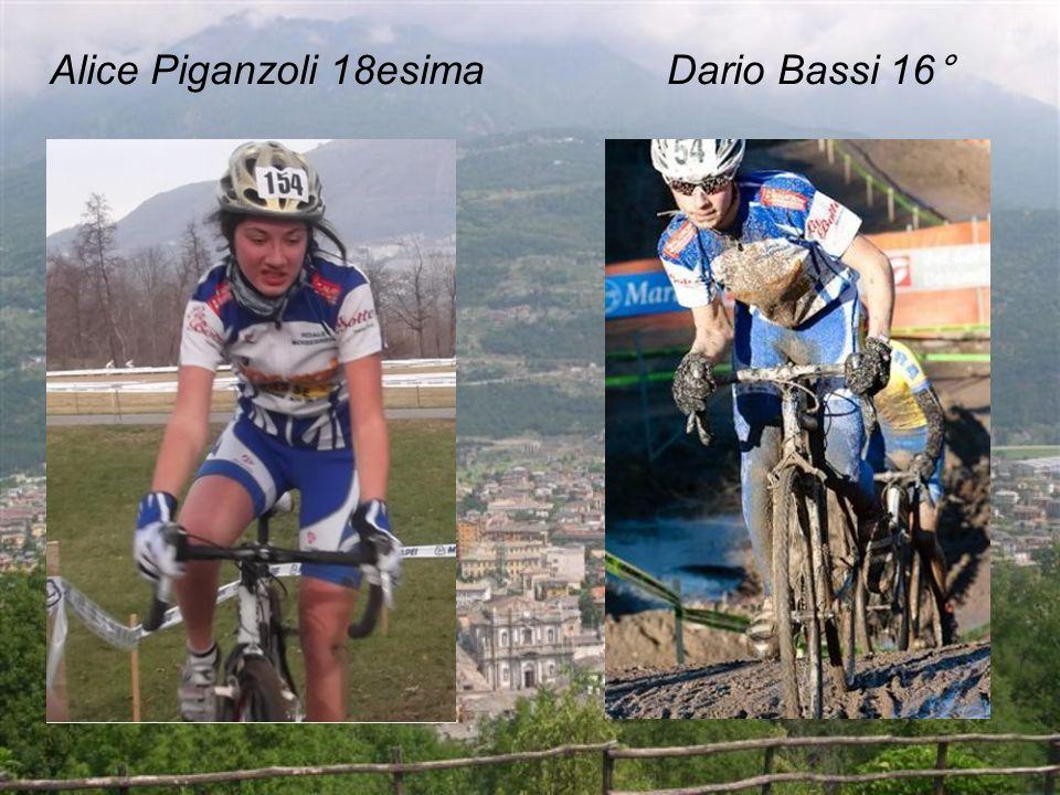 Alice Piganzoli 18esima Dario Bassi 16°