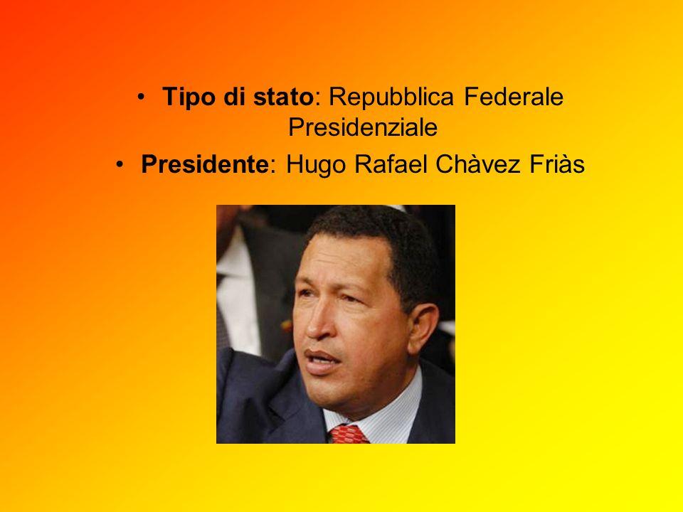 Tipo di stato: Repubblica Federale Presidenziale
