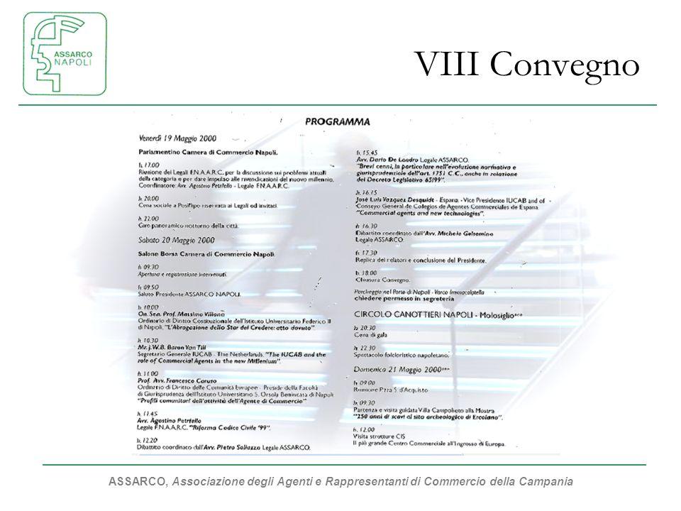 VIII Convegno