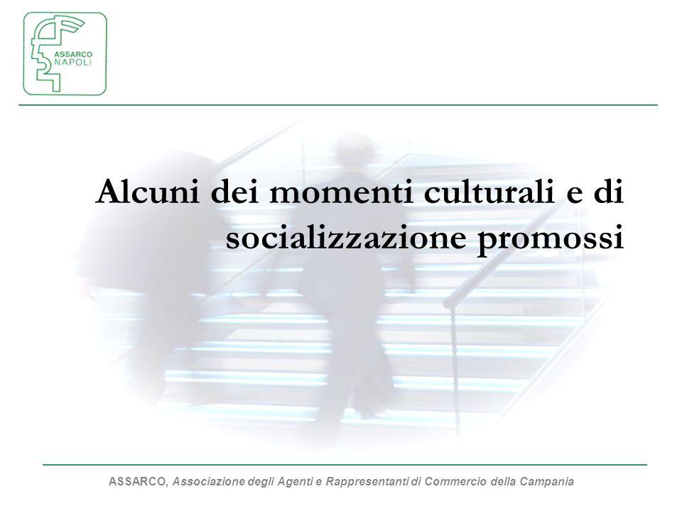 Alcuni dei momenti culturali e di socializzazione promossi