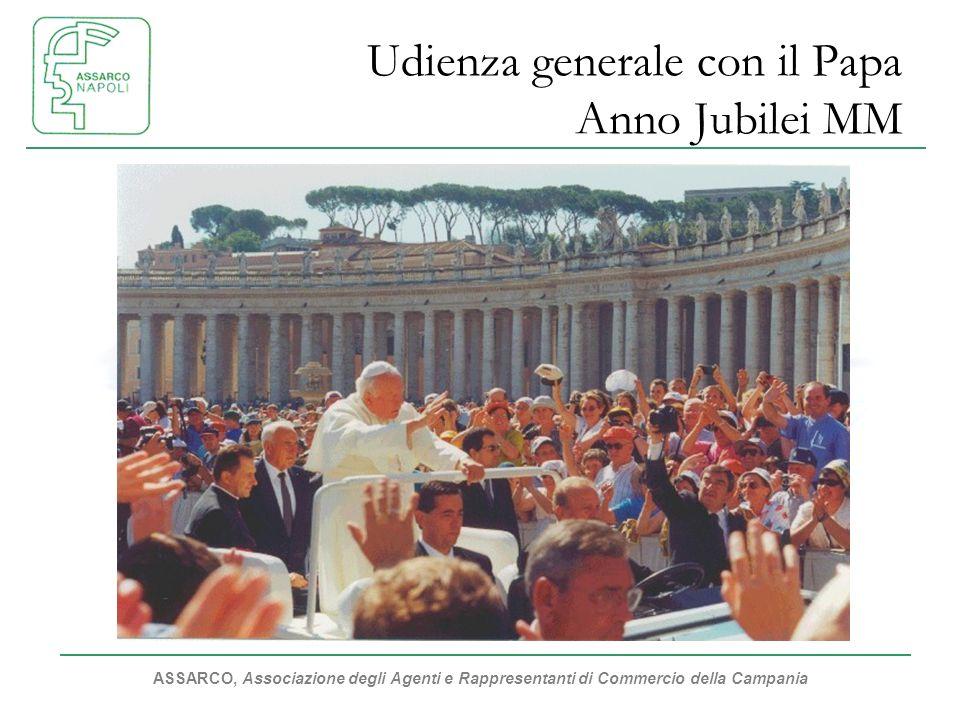 Udienza generale con il Papa Anno Jubilei MM