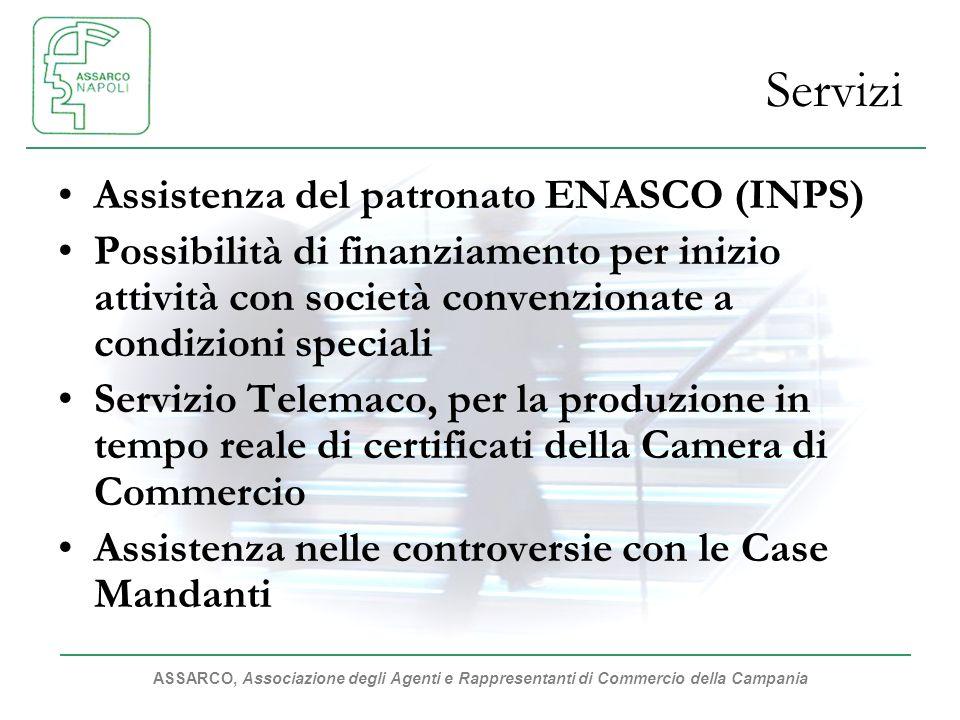 Servizi Assistenza del patronato ENASCO (INPS)