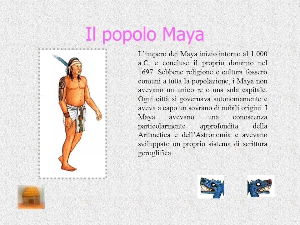 Il popolo Maya