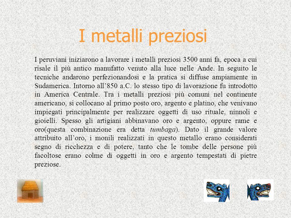 I metalli preziosi